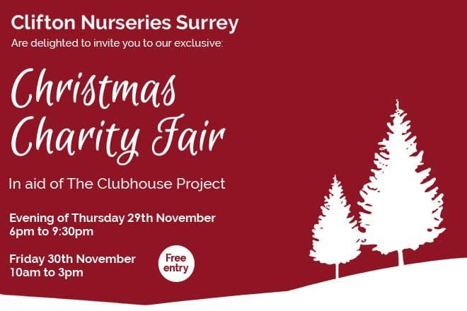 Clifton Nurseries Surrey Christmas Charity Fair