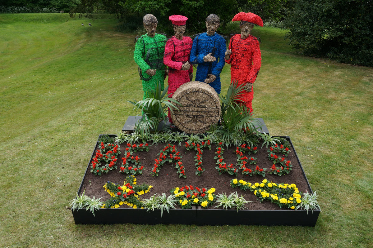 Sgt. Pepper installation at Chiswick House