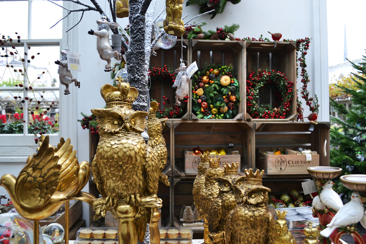 Clifton Nurseries Christmas Decorations