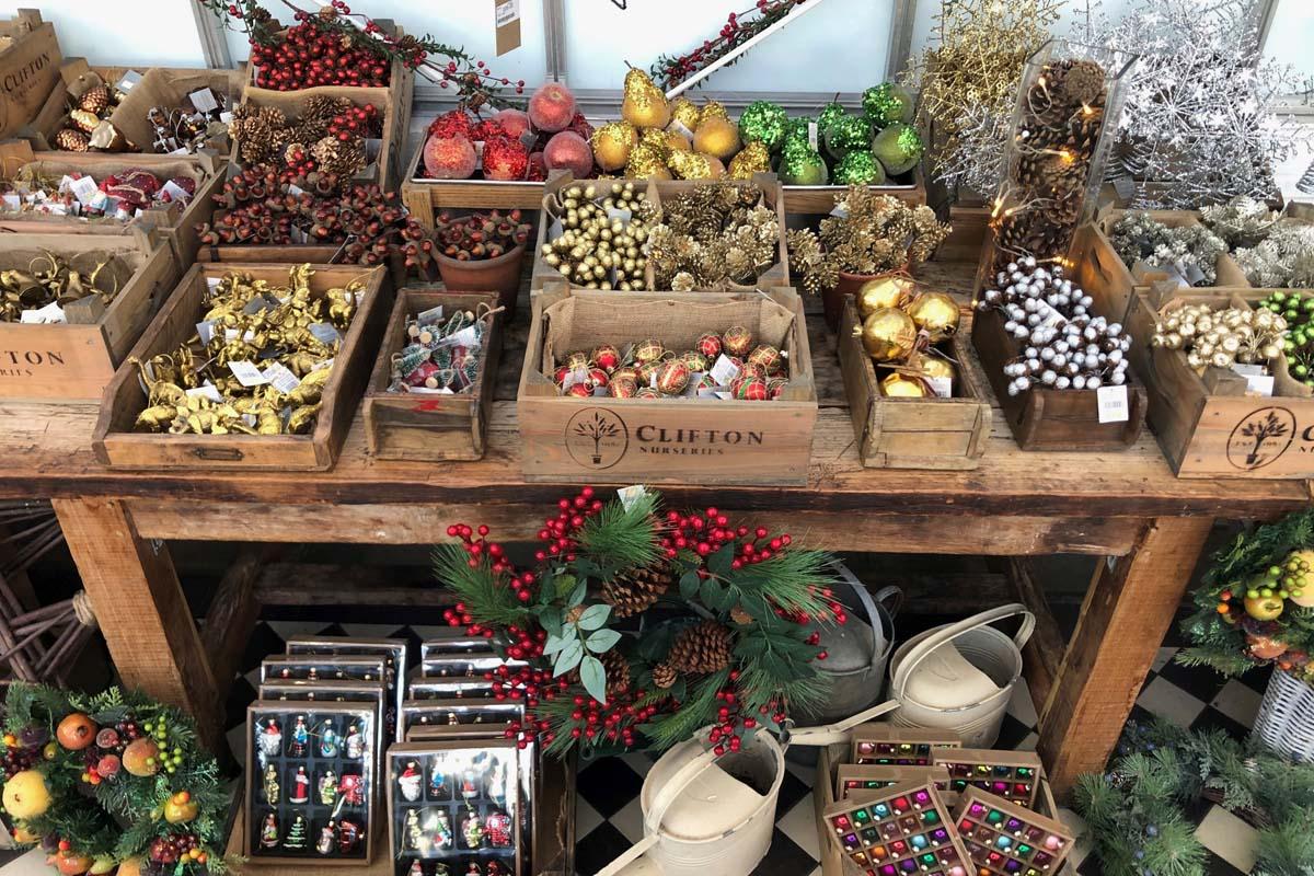 Christmas sparkle from Clifton Nurseries
