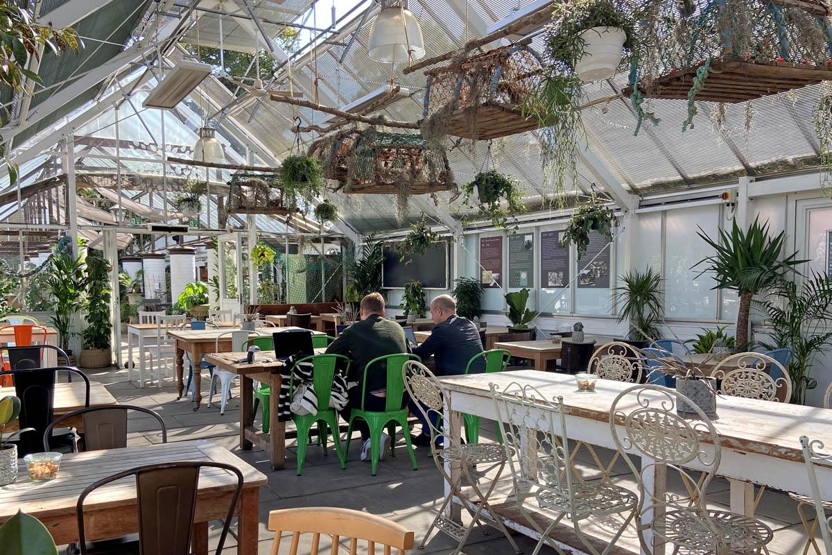 Flotsam & Jetsam Cafe - Clifton Nurseries London