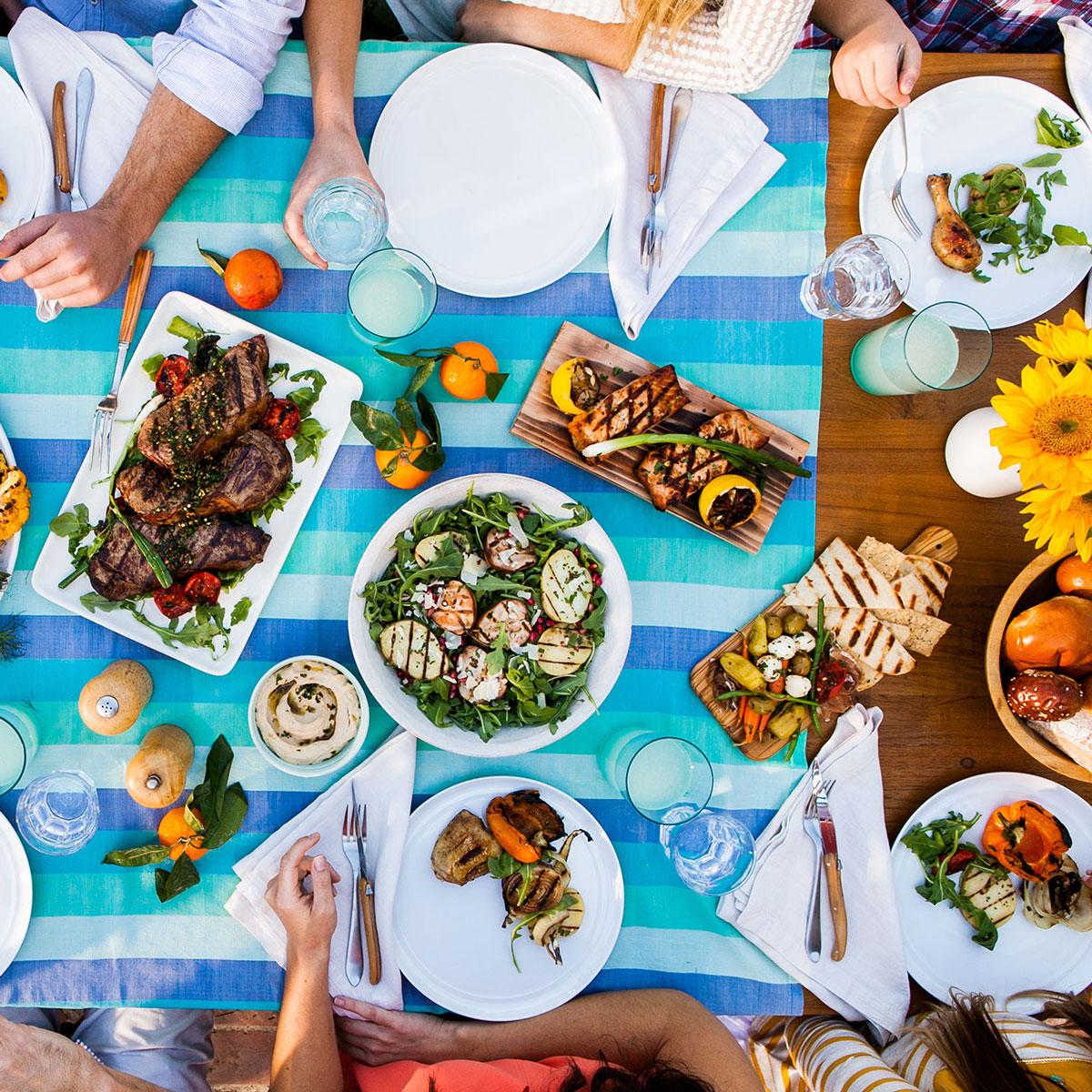 Food Tastes better Outdoors!