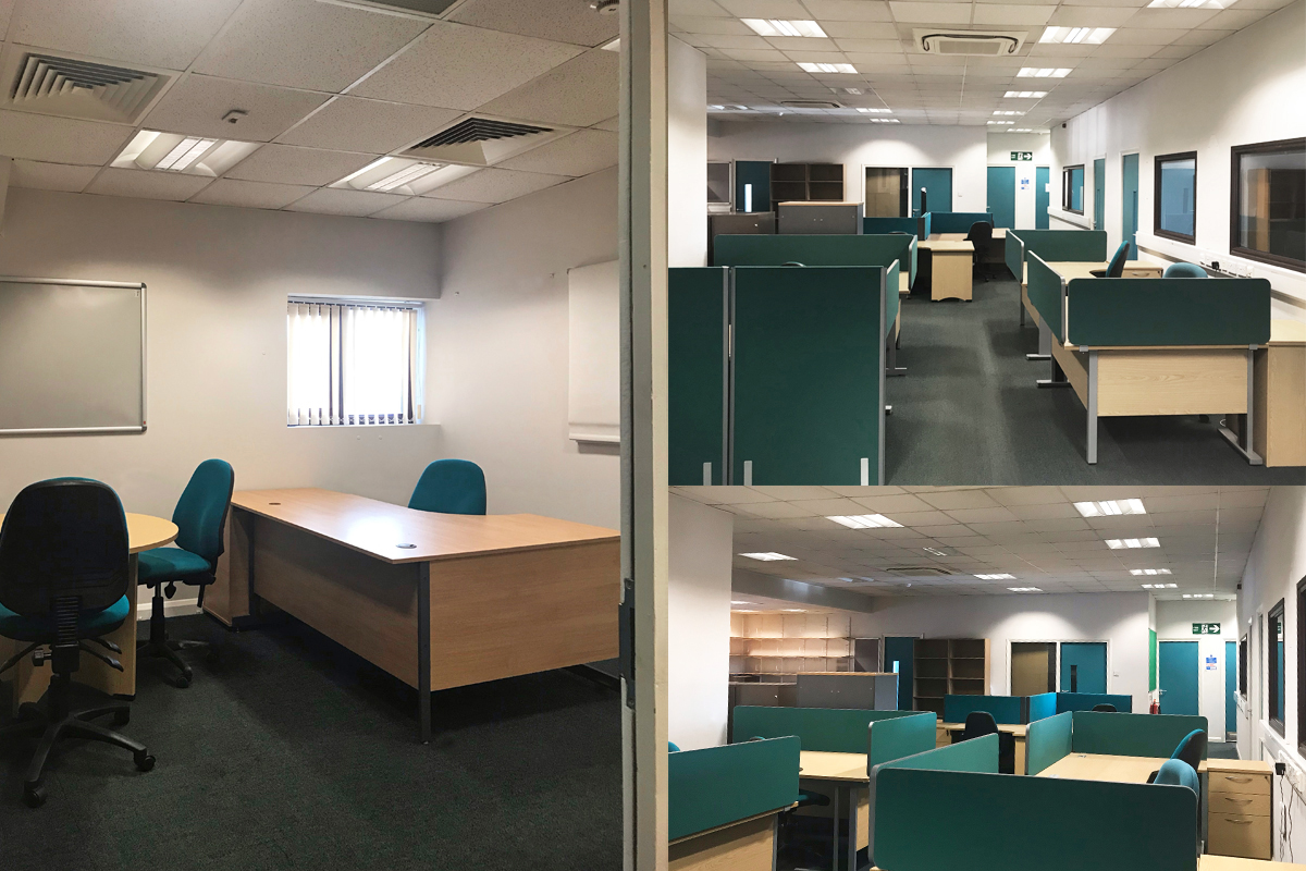 Office space to let - range of sizes