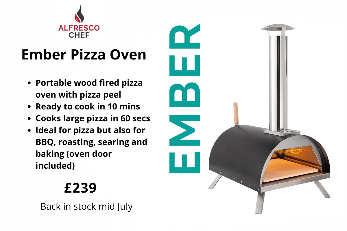 Ember pizza oven from Clifton Nurseries