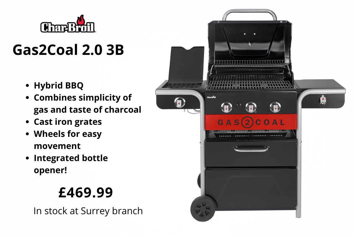Char-Broil Gas2Coal BBQ from Clifton Nurseries