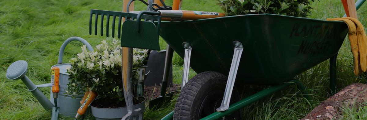 Clifton Nurseries Bulldog Tools Garden Rake Banner
