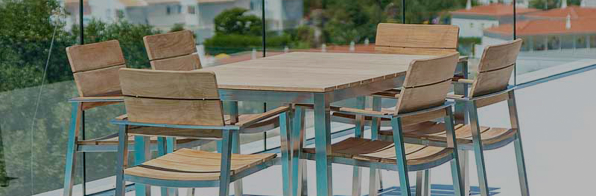 Clifton Nurseries Alexander Rose Cologne 6 Seater Outdoor Dining Set
