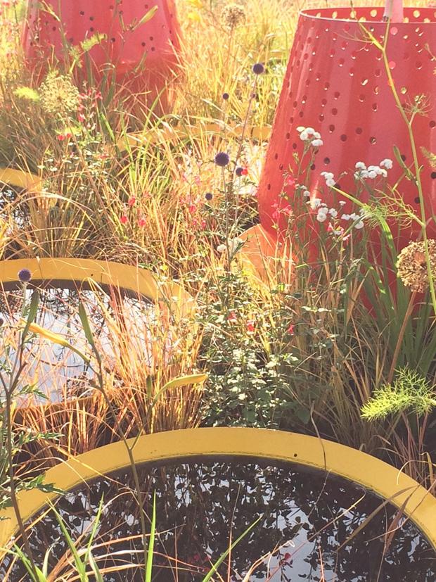 Kinetica Conceptual Garden - Photo John Warland