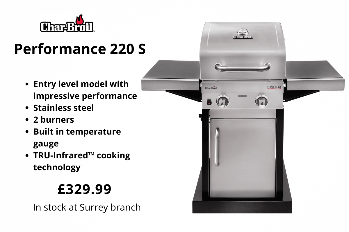 Char-Broil Performance 220 S from Clifton Nurseries