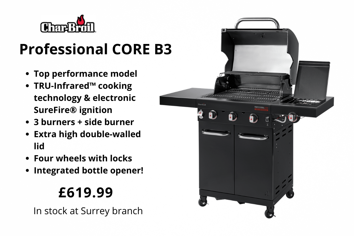 Char-Broil Professional CORE B3 from Clifton Nurseries