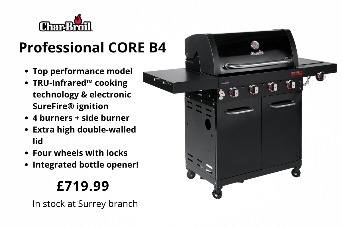 Char-Broil Professional CORE B4 from Clifton Nurseries