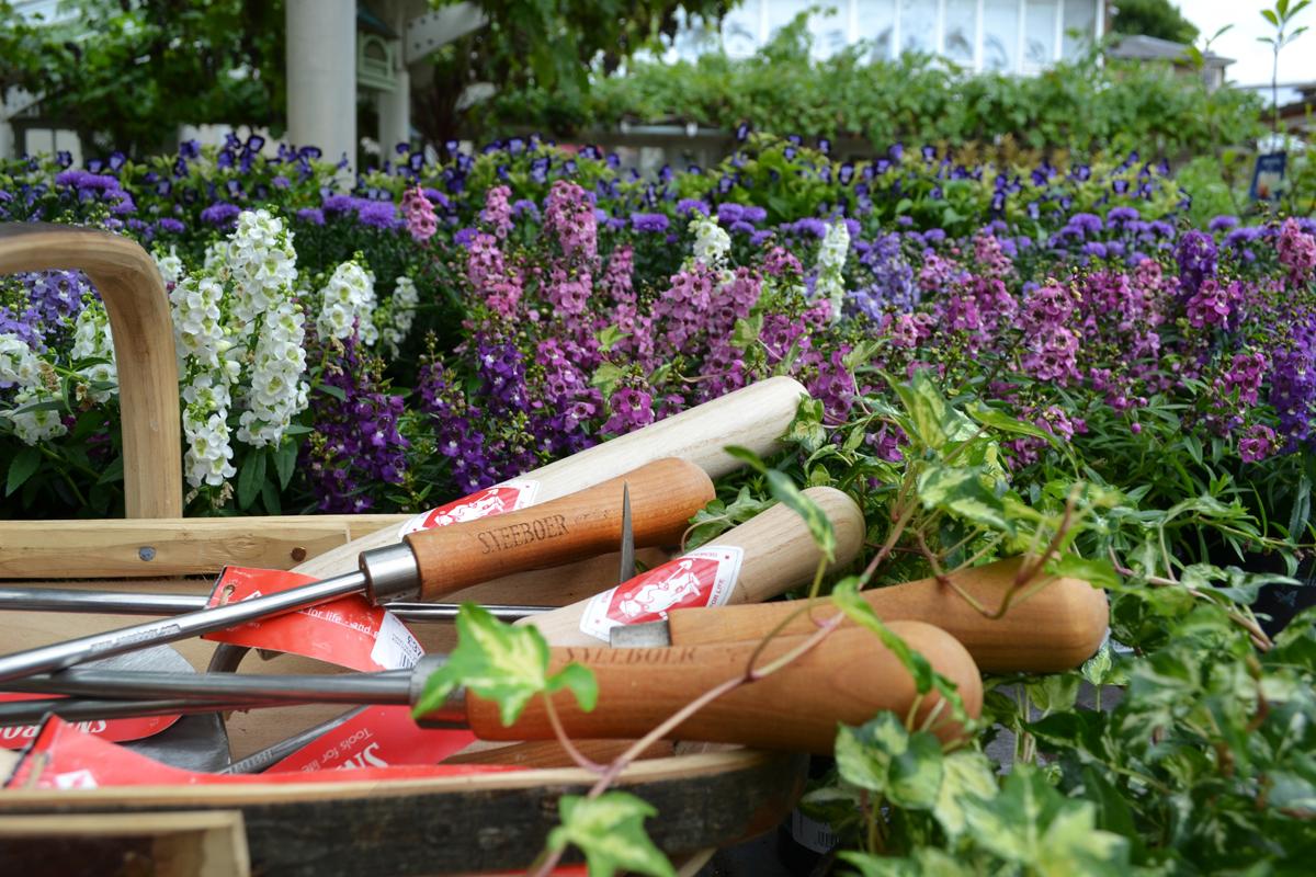 Sneeboer Tools at Clifton Nurseries