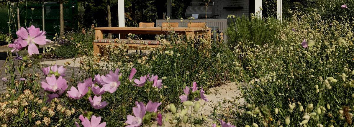 Clifton Nurseries Surrey Show Garden