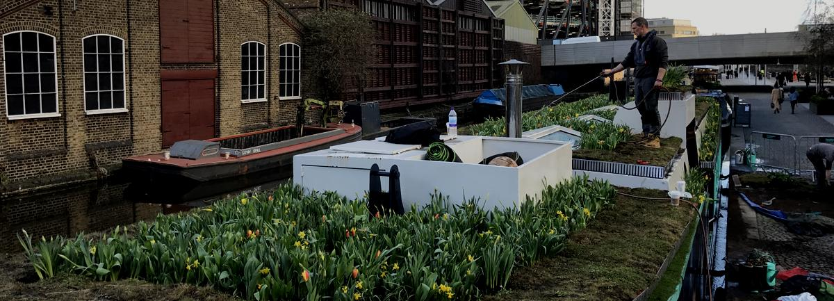 Clifton Nurseries Floating Garden