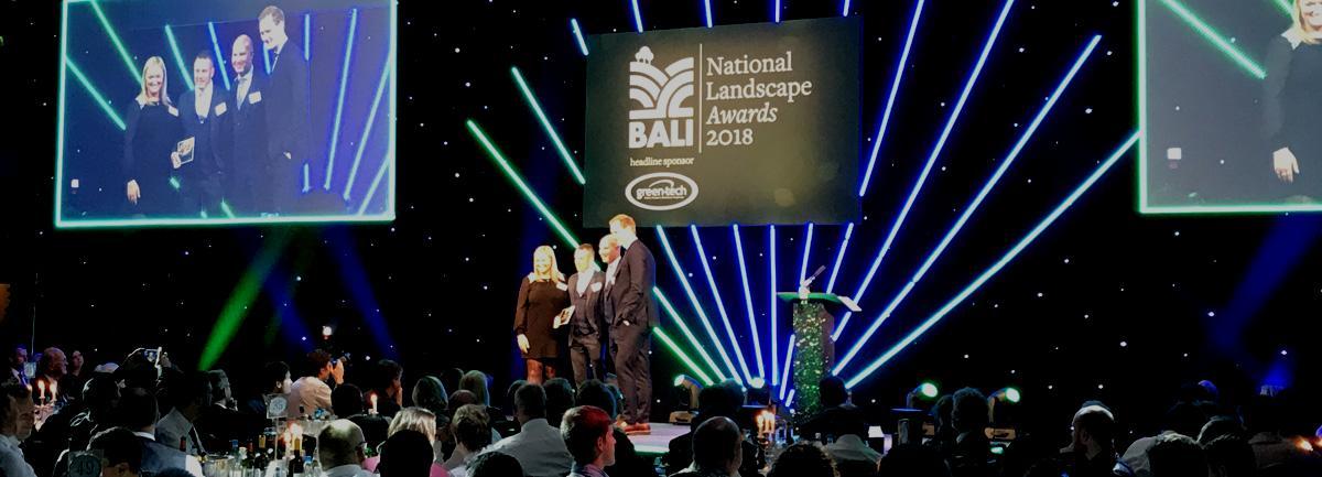 Clifton Nurseries win Principal BALI Award 2018