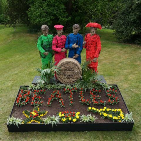 Clifton Nurseries celebrating 50 Years of Beatles
