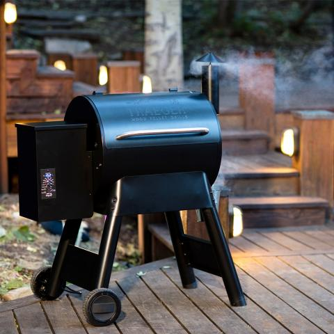 Richard Holden discusses Traeger Grills