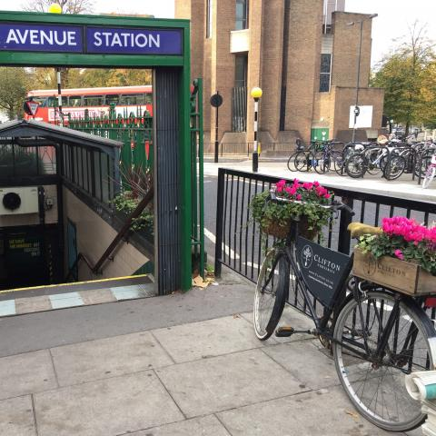 Greening and brightening up Warwick Avenue Underground Station