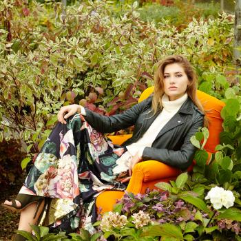 Florals Fashion Shoot at Clifton Nurseries