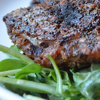 Richard Holden BBQ steak recipe from Clifton Nurseries