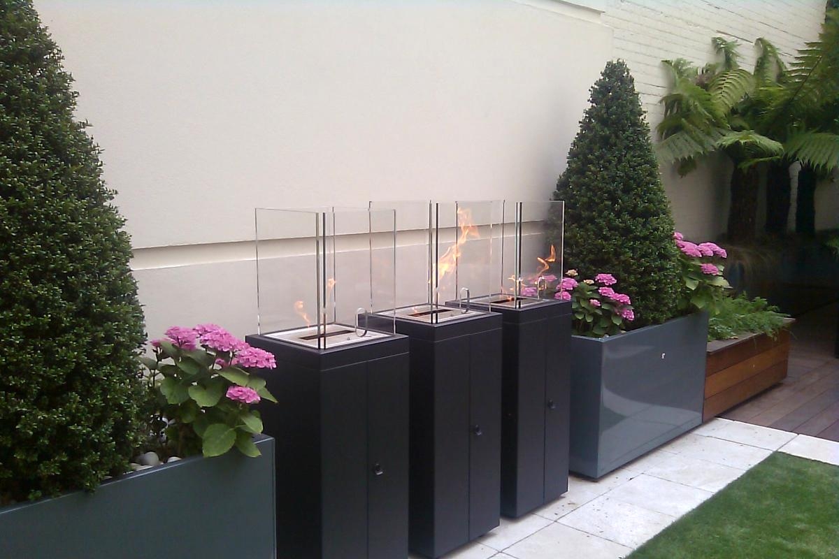 Clifton Nurseries City Roof Garden Stylish Heaters