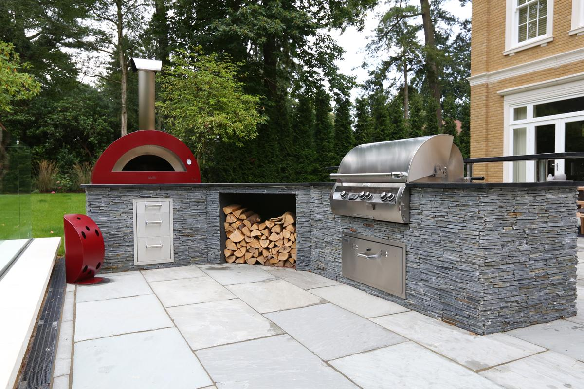 Clifton Nurseries Country Outdoor Kitchen