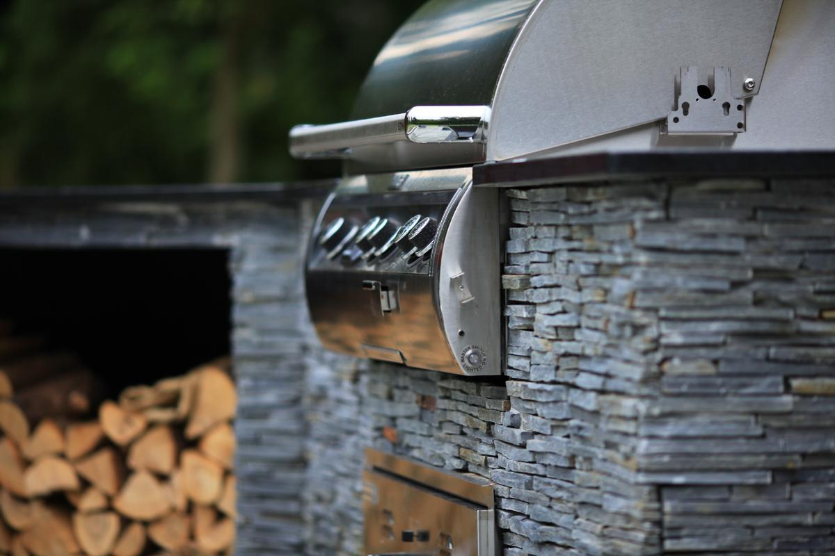 Clifton Nurseries Outdoor Kitchen - Attention to Detail