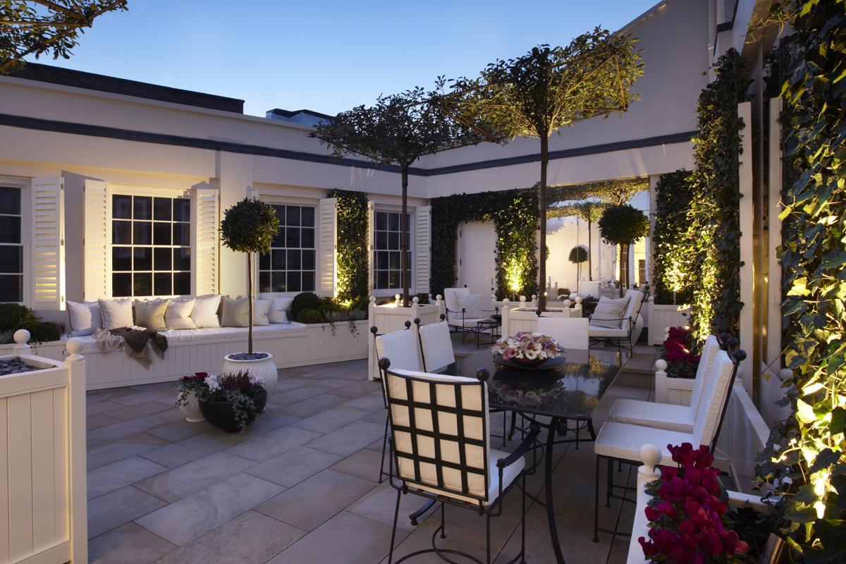 Clifton Nurseries Grosvenor Crescent Roof Terrace