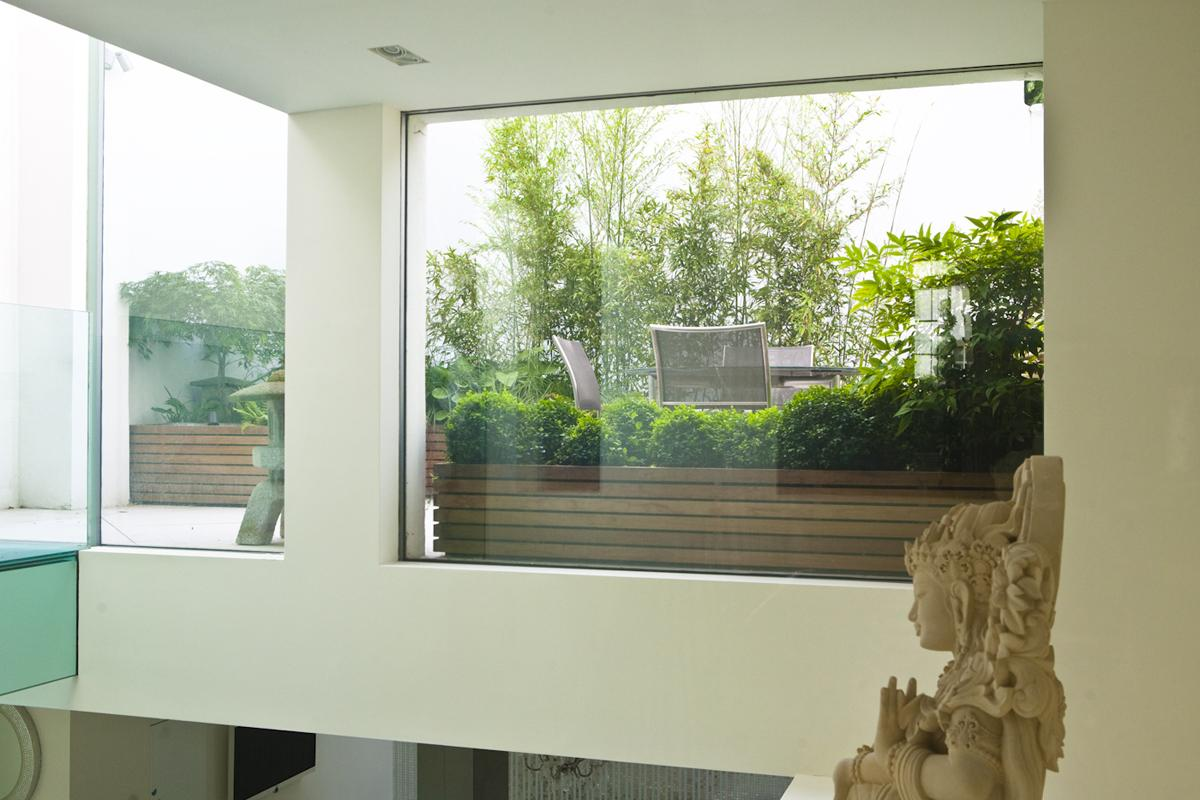 Clifton Nurseries Knightsbridge Japanese Roof Terrace