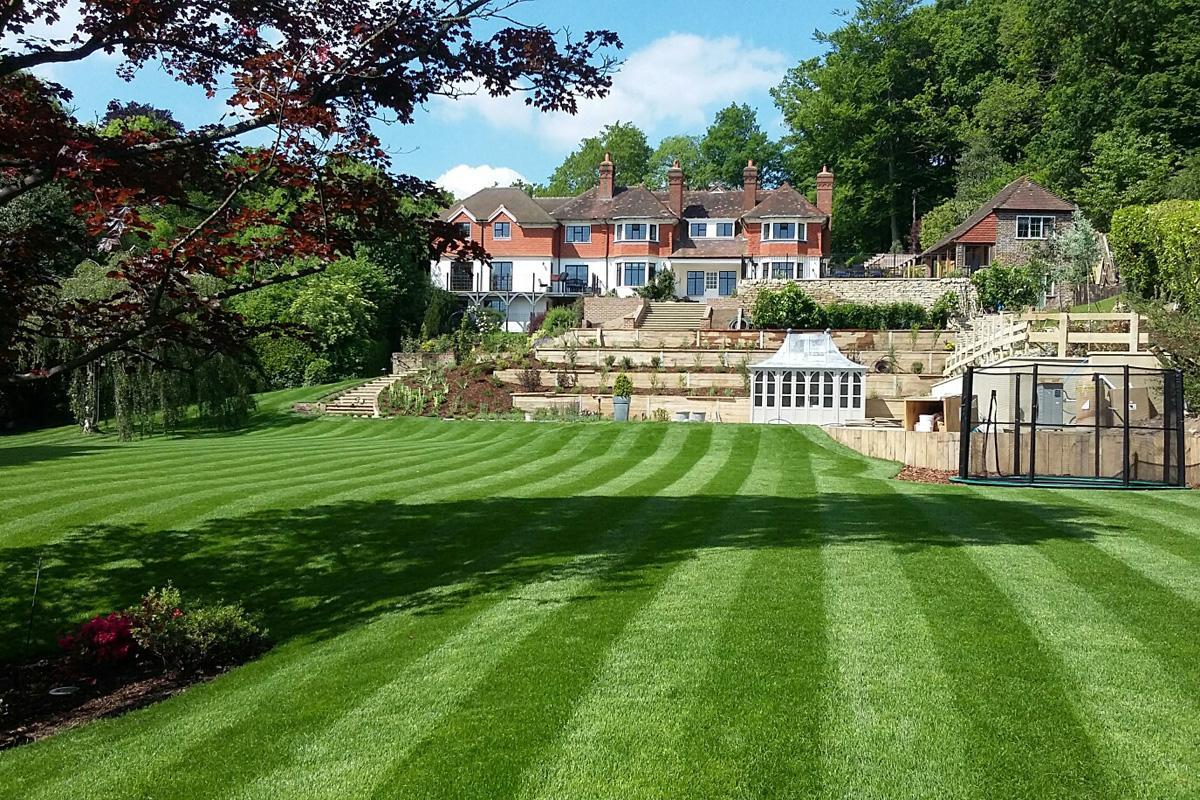 Large Surrey Garden View