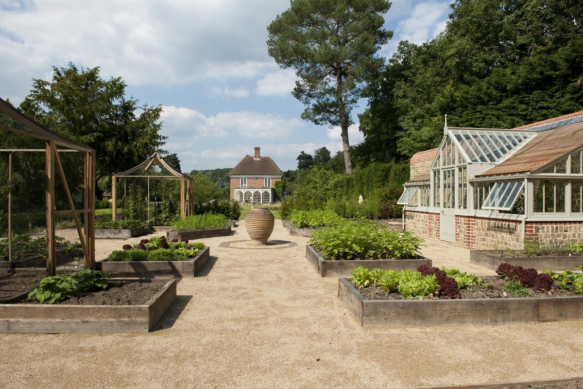 Clifton Nurseries Riverside Garden - Kitchen Garden