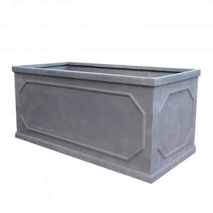 Clifton Nurseries living green fibrestone trough black lightweight