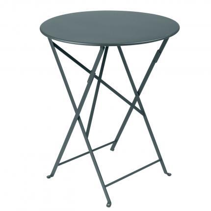 Clifton Nurseries Fermob Bistro Table D60 - Storm Grey