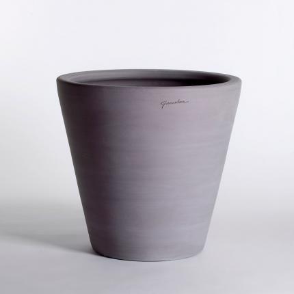 Clifton Nurseries Goicoechea Contemporary Vase 29cm in Grey