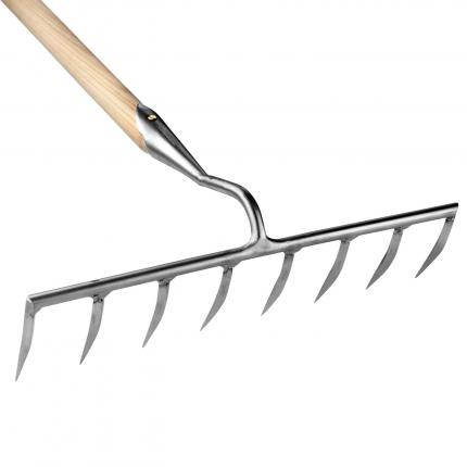 Clifton Nurseries Sneeboer Rake 8 Tines - Ash Handle