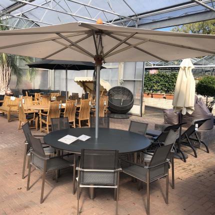 Clifton Nurseries - Equinox Mercury 8 Seater Dining Set
