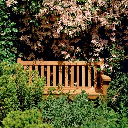 Clifton Nurseries barlow tyrie london collection hardwood bench