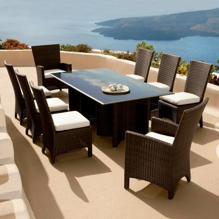 View The Full Image Clifton Nurseries Barlow Tyrie Savannah 8 Seater Dining  Set