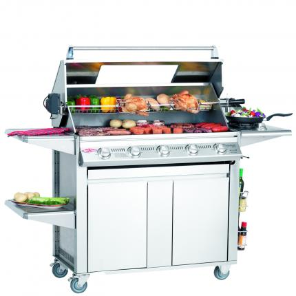 Clifton Nurseries Signature Plus 5 Burner with Cabinet Trolley