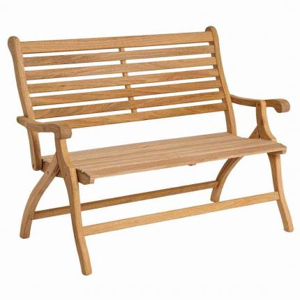 Alexander Rose Roble 2 Seater Folding Bench 4ft