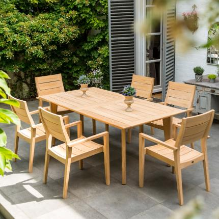 Alexander Rose Roble Extending Table at Clifton Nurseries