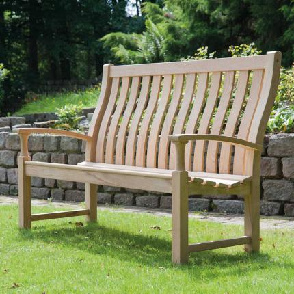 Clifton Nurseries alexander rose santa cruz high back bench