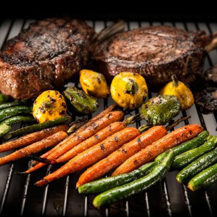 Clifton Nurseries alfresco chef traeger pro series 22 smoke shelf
