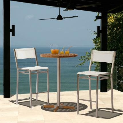 Clifton Nurseries Barlow Tyrie Equinox High Bistro Set