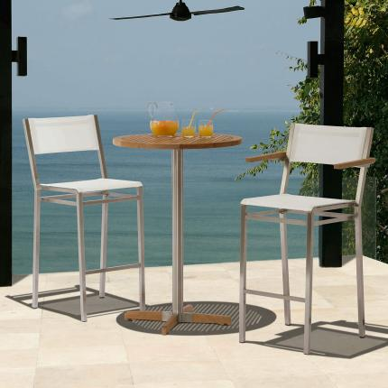clifton nurseries barlow tyrie equinox high dining side chairs for home or garden