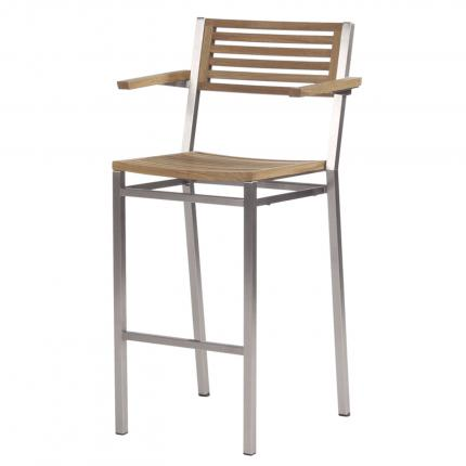 clifton nurseries barlow tyrie high dining carver chair teak for garden or home