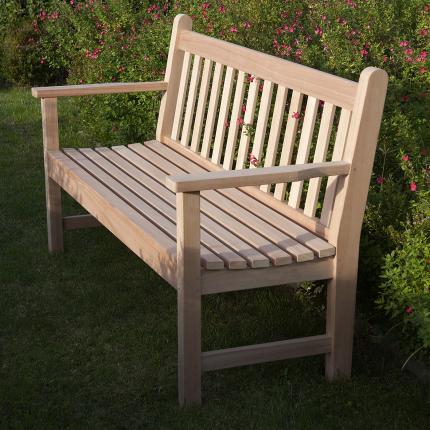 clifton nurseries barlow tyrie lavenham seat 150 eucalyptus bench for your garden or patio