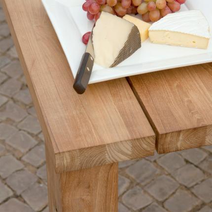 Clifton Nurseries barlow tyrie titan outdoor hardwood teak dining table
