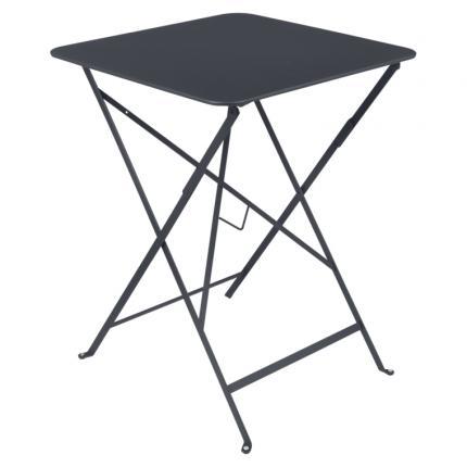Clifton Nurseries Fermob Bistro Folding Table 57x57cm - Anthracite