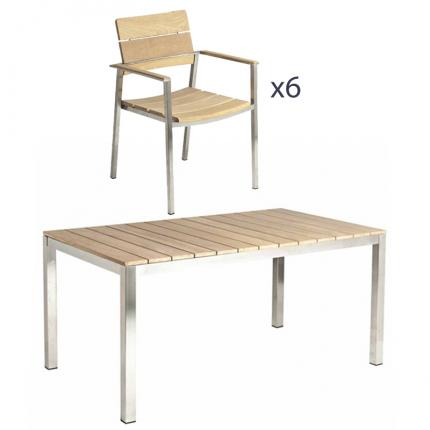 Clifton Nurseries Alexander Rose Cologne 6 Seater Dining Set Furniture Included